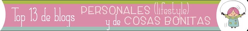 Top de blogs personales y cosas bonitas en español