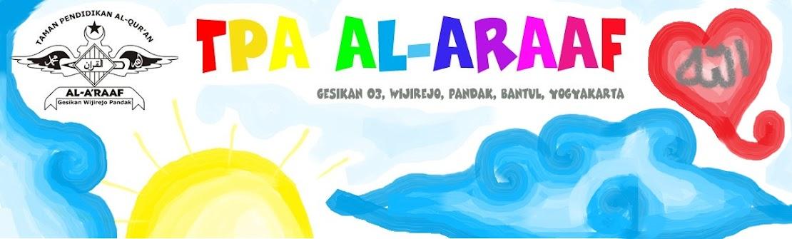 Semangat TPA Al-A`Raaf