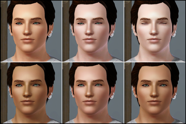 how to change sims 3 default skin