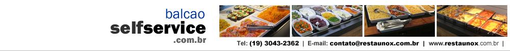Balcão Self Service para Restaurante