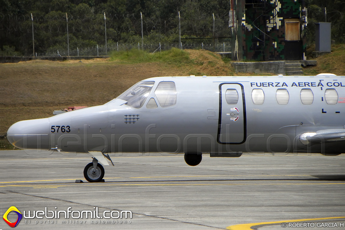 FAC5763 Cessna SR-560 Fuerza aerea colombiana