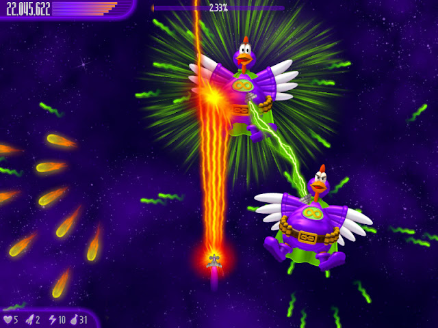 تحميل لعبة حرب الفراخ Chicken Invaders 2013 كاملة برابط واحد
