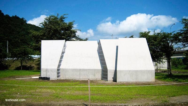 Arquitectura de casas casa moderna no residencial for Casa minimalista residencial