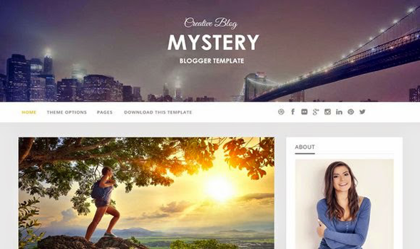 Mystery-Blogger-Template