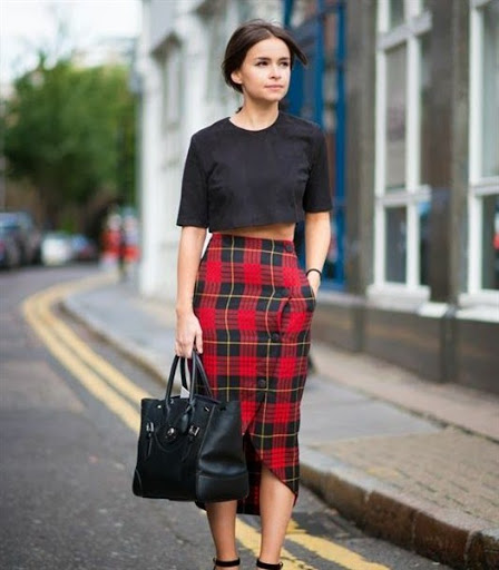 Womens Plaid Skirt | Jill Dress