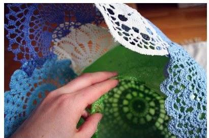 DIY: Lámpara a Crochet Paso 4