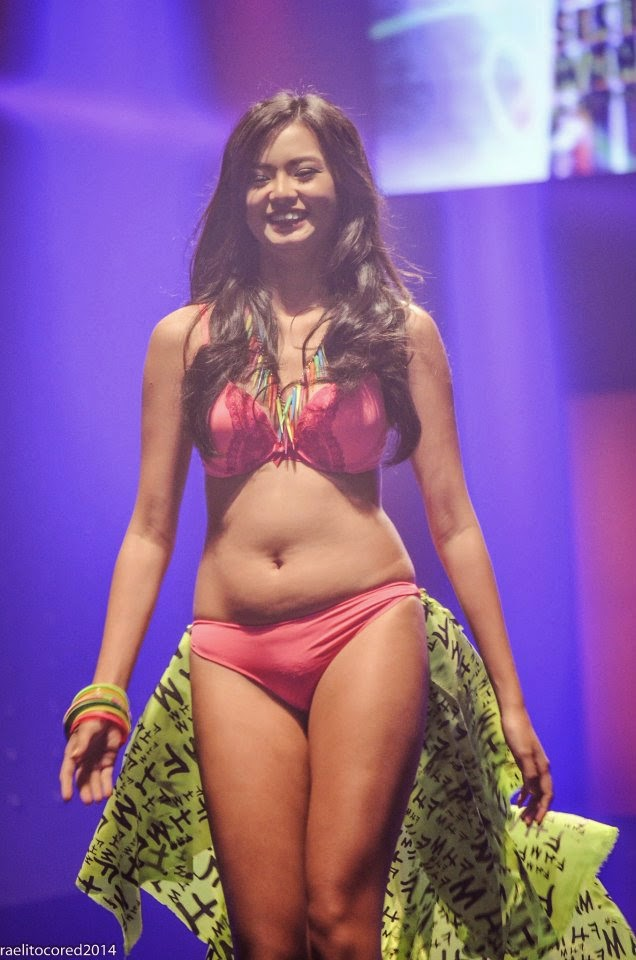 leah bernardino at fhm victory party 2014