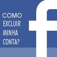 Como excluir uma conta no Facebook