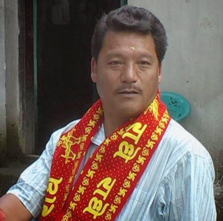 Bimal Gurung led a team to Kathmandu, Nepal