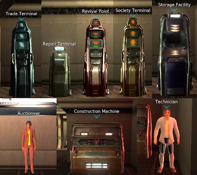 Entropia Universe - Important Terminals