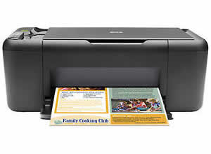HP Deskjet F4480 All-in-One Printer user manual