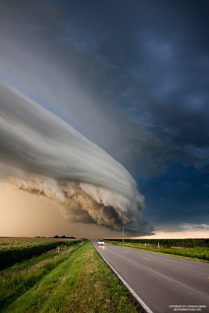 Storm in Nebraska, USA