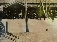 明治23年ごろの盛岡駅、東北鉄道が盛岡まで開通した。