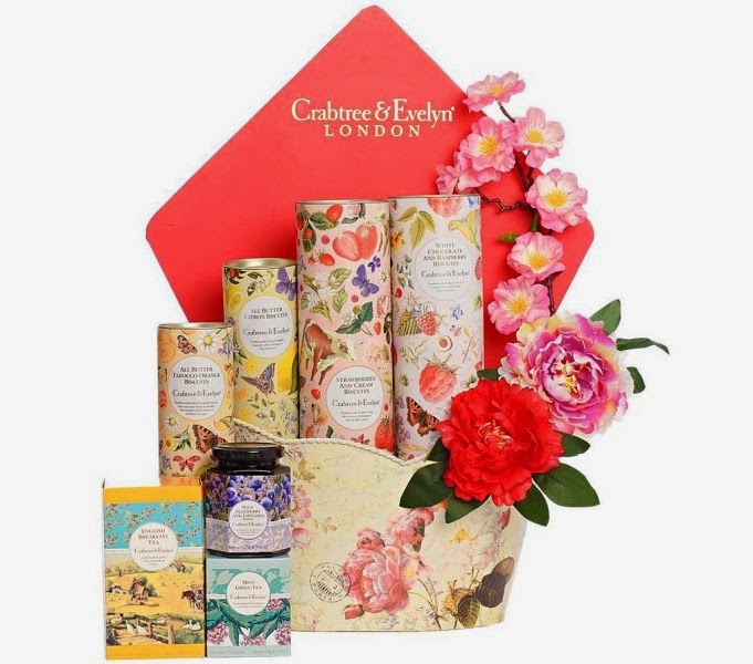 Crabtree & Evelyn Blossom Fine Food Hamper, Crabtree & Evelyn, CNY Fine Food Collection 2015, Chinese New Year Fine Food Hamper, Fine Food, Pear and Pink Magnolia Bath and Body, Crabtree & Evelyn CNY, CNY 2015
