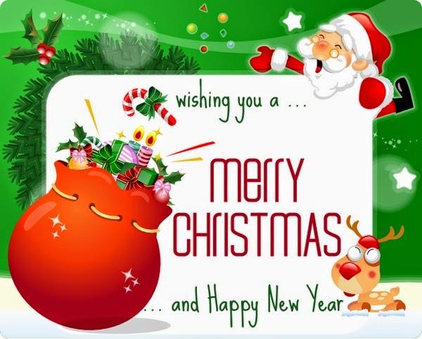 Thiệp chúc mừng giáng sinh và năm mới