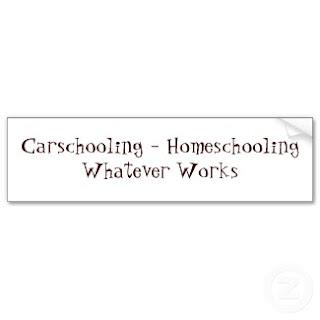 Bernice Zieba, Jan Zieba, Homeschool Blog, Homeschooling, Carschooling