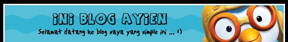 Ini Blog Ayien