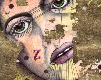 """Radium Girl"" (c) Savannah Schroll Guz, all rights reserved"