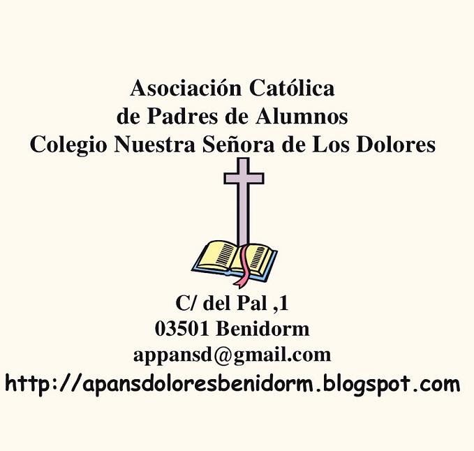 Asociación Católica de Padres CC Ntra. Sra. de los Dolores.- Benidorm
