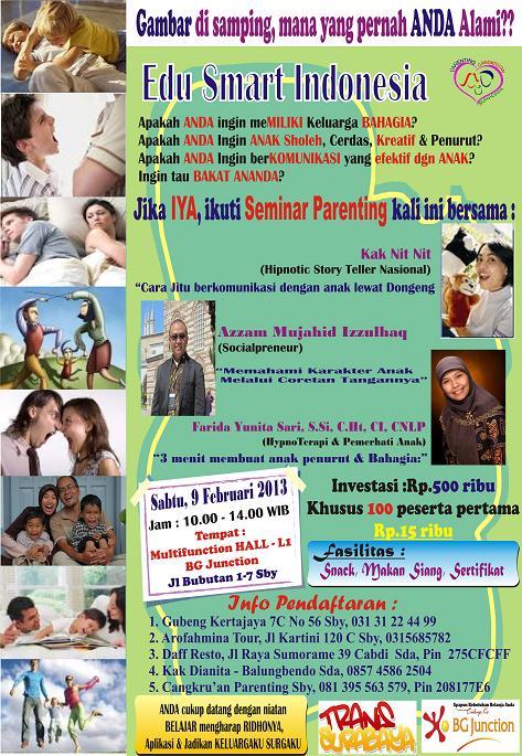 seminar edu smart indonesia