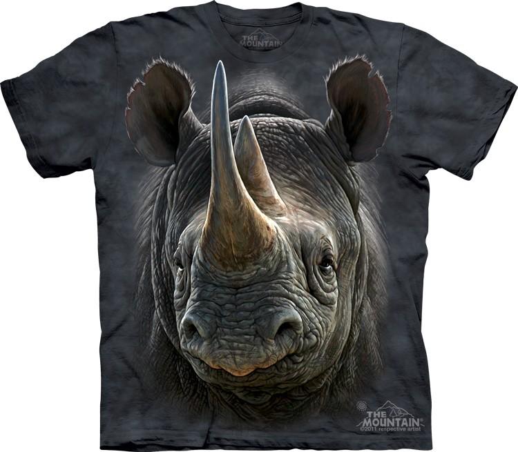 áo 3d con tê giác, ao 3d hinh te giac