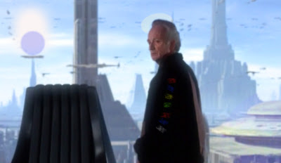 Chancellor Palpatine in his office in the senate building, Star Wars Episode 2, Attack of the Clones