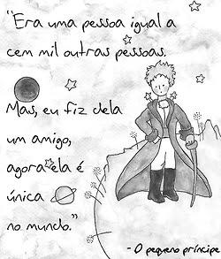 """Frase de """"O Pequeno Príncipe"""" para compartilhar no Facebook"""