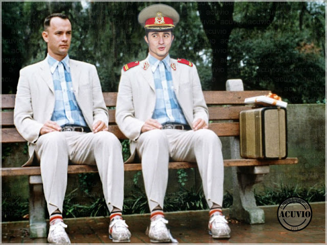 Funny photo Forrest Gump Alexandru Gheorghe