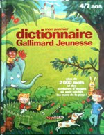 Dictionnaire Gallimard Jeunesse