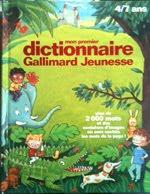 Dictionnaire Gallimard Jeunesse
