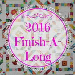I'm co-hosting the 2016 Finish-A-Long