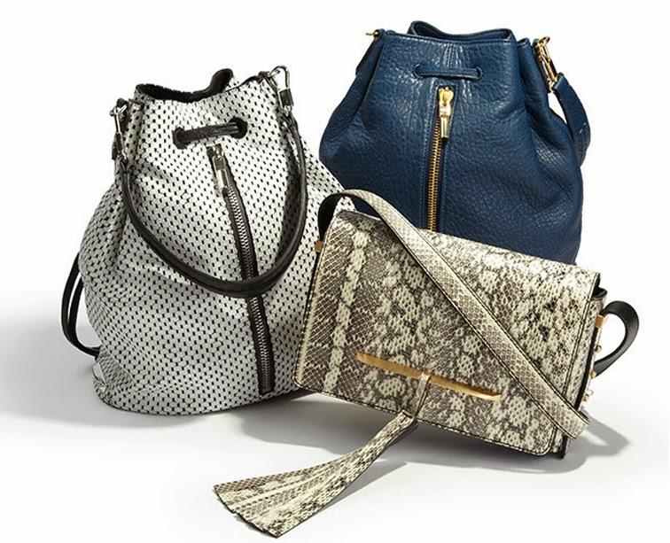 Spring summer 2014 leather goods bag, Elizabeth & James, B Brian Atwood