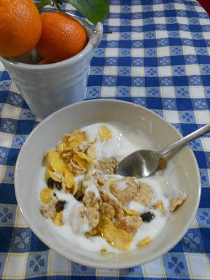 yogurt per colazione - breakfast yogurt