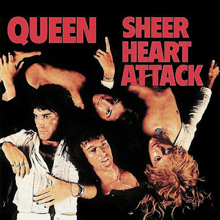 Queen - Sheer Heart Attack album cover