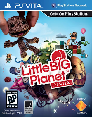 LittleBigPlanet PS Vita Cover Art