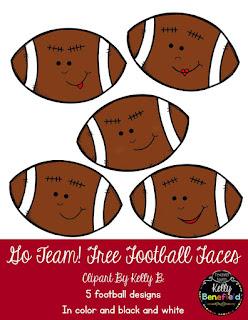 https://www.teacherspayteachers.com/Product/Go-Team-Football-Faces-Clipart-by-Kelly-B-2181904