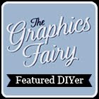 I was featured at the Graphics Fairy!