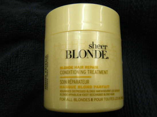 ... the Do: John Frieda Sheer Blonde Hair Repair Conditioning Treatment