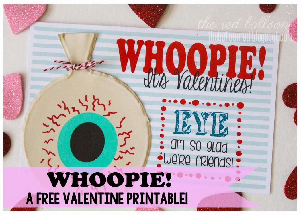 Whoopie! A Valentine!