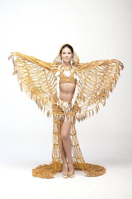 Srta. Colombia 2011-2012. Desfile en traje artesanal Bogotá: Ana Melissa Cano Rey