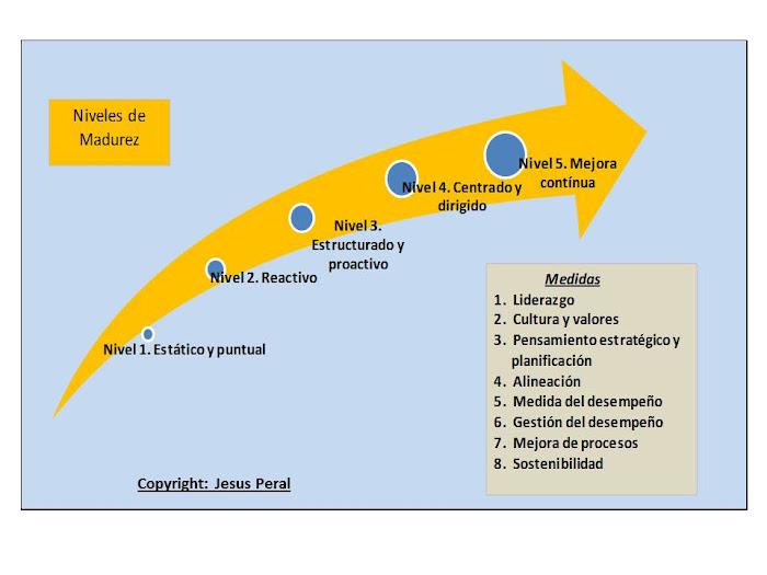 ESQUEMA 40. Modelo de madurez de la Dirección Estratégica