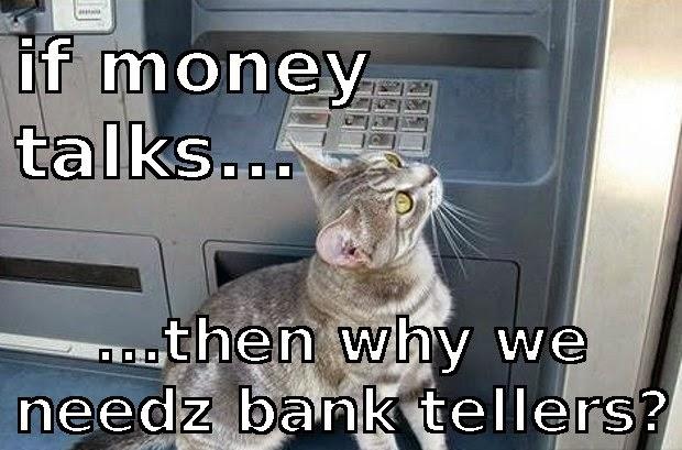 Instadebit casino cat meme bank joke pun