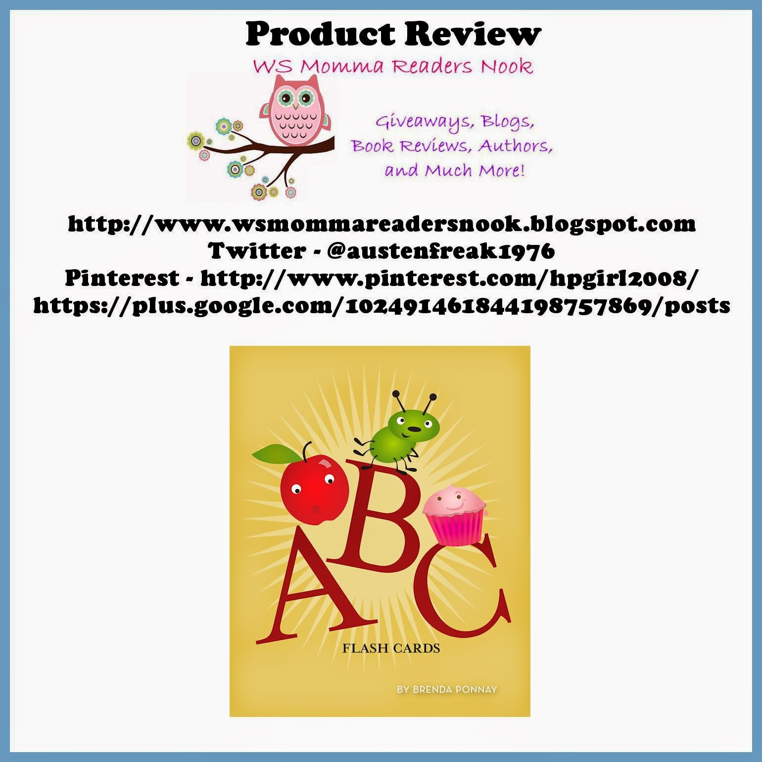 http://www.amazon.com/abc-flashcards-brenda-ponnay-ebook/dp/b00ftdk08a