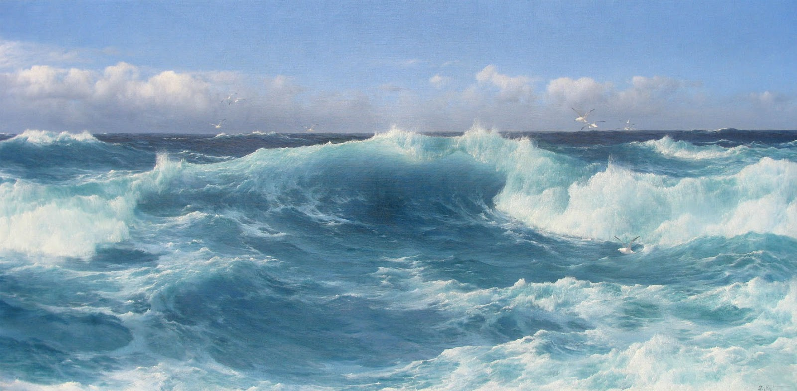 Marine oil paintings macconnal mason gallery for The montague