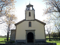 Façana principal de l'ermita de La Damunt