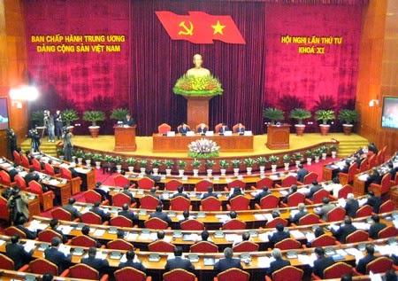 Hội nghị lần thứ bốn Khóa XI Đảng Cộng sản Việt Nam