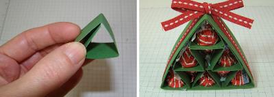PAP 04 - Mini Árvore feita com dobradura de papel