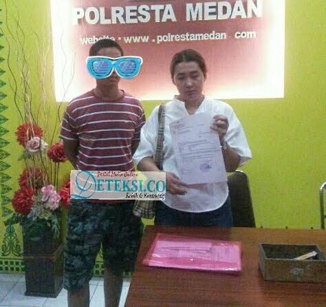 """Diduga Aniaya Anak, Oknum Kejatisu """" SR """" Dilaporkan ke Polrestabes Medan"""