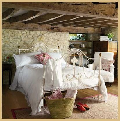 Rooms of inspiration a rustic and romantic bedroom - Ideas para decoracion rustica ...
