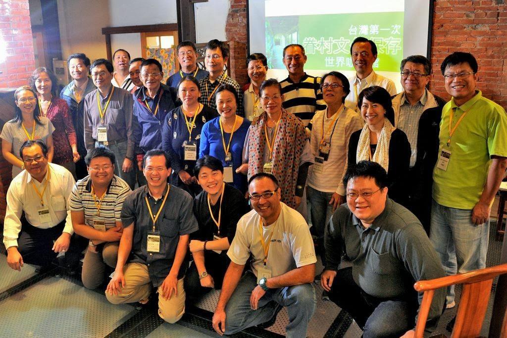 來自全國13個指定保存的眷村代表出席眷村文化保存世界咖啡館會議,並提出五大宣言。(李俊賢攝影)